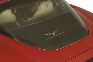 C6 Corvette Rear Cargo Cover Shade