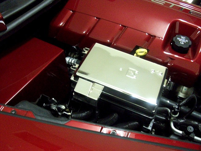 z06 no longer available rpi designs! c6 chrome replacement ... astra fuse box cover c6 corvette painted fuse box cover #14