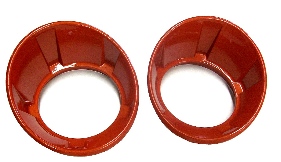 2010-2013 Camaro Painted Fog Light Bezels